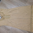 Отдается в дар Женское платье, размер 46 – 50, трикотажная, можно для беременных