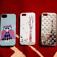 Отдается в дар Чехлы на iPhone 5 и 5s