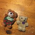 Отдается в дар Медведи маленькие игрушки