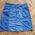 Отдается в дар Юбка джинсовая 48 размер