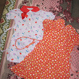 Отдается в дар платья девочке 3-6 лет советского качества