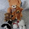 Отдается в дар Мягкие игрушки — мишки и собачка