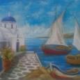 Отдается в дар открытка из Греции