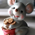Отдается в дар Копилка Мышь (18см)