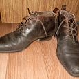 Отдается в дар мужские ботинки 41-42