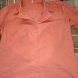 Отдается в дар Женская рубашка. 46-48 размер