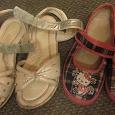 Отдается в дар Летняя обувь на девочку 29-30 размер