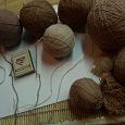 Отдается в дар Нитки для вязания. Остатки