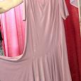 Отдается в дар Платье праздничное с воланом наискосок