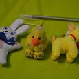 Отдается в дар плюшевые игрушки маленькие