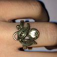 Отдается в дар Серебряное кольцо 925 с топазом