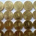 Отдается в дар Монеты 10 руб ГВС 2012 года 4+4 шт