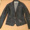 Отдается в дар Куртка джинсовая женская р. s-m синяя!