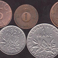 Отдается в дар Монеты Швеции и Франции