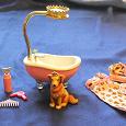 Отдается в дар игрушка собачка-принцесса с ванной