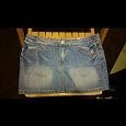 Отдается в дар Джинсовая мини юбка твое,44-46 размер
