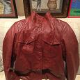 Отдается в дар Куртка кожаная, размер 46-48