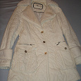Отдается в дар Пальто зимнее, молочный цвет, размер 42-44, рост строго 160см, иначе рукава будут коротки, в отличном состоянии.