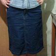 Отдается в дар Юбка джинсовая 50-52 размера