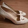 Отдается в дар Туфли белого цвета