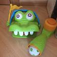Отдается в дар Настольная игра Elefun and Friends «Гол Крокодильчика»