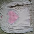 Отдается в дар кофточка-футболочка на 8-9 лет.