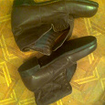 Отдается в дар Ботинки мужские кожаные коричневые