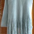Отдается в дар шарф голубой деми ж.