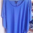 Отдается в дар Майка блузка 42 размер синяя