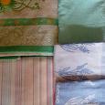 Отдается в дар Набор полотенец для ванный и кухни+простынь
