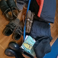 Отдается в дар одежда и обувь мальчику ростом 122-128
