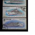 Отдается в дар Корабли. Почтовые марки СССР.