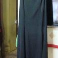 Отдается в дар юбка в пол 44-46, черная