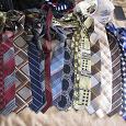 Отдается в дар мужские галстуки, много