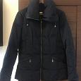 Отдается в дар Куртка синяя C&A демизесон/еврозима 42 размер (рус)
