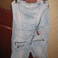 Отдается в дар Комбинезон-джинсы на очень худенькую девочку-девушку рост 152-158