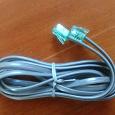 Отдается в дар Шнурок слаботочный и переходник для антенного кабеля ТВ