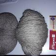 Отдается в дар Пряжа для ручного вязания деревенька