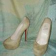 Отдается в дар Женские туфли 39 размера а-ля Лабутен