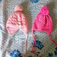 Отдается в дар шапки на девочку 2 лет