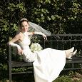 Отдается в дар Свадебное платье для дюймовочки, 38-40-42 рос.