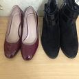 Отдается в дар Обувь на 37 размер, туфли, ботильоны, зимние ботинки