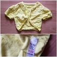 Отдается в дар Желтая укороченная кофточка для девочки