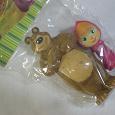 Отдается в дар Маша и медведь игрушки новые