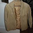 Отдается в дар Одежда — куртка кожа унисекс и плащ мужской на не большой размер