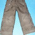 Отдается в дар Теплые штаны с дефектом 5-6 лет.