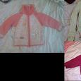 Отдается в дар Одежда на девочку, от 3 до 6 лет.