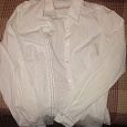 Отдается в дар белая рубашка 44р.