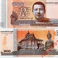 Отдается в дар Камбоджа — 100 Риэлей 2014 UNC
