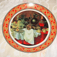 Отдается в дар тарелка декоративная настенная в интерьер